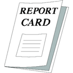 Image of school report card