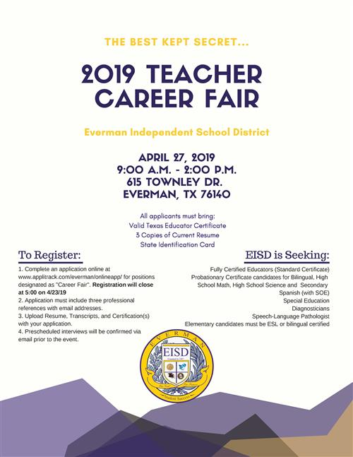 Job Fair Information