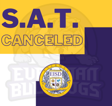 SAT canceled