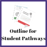 Outline for student pathways graph image.