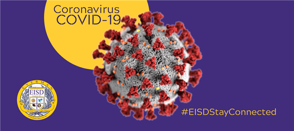 Coronavirus information picture for EISD.