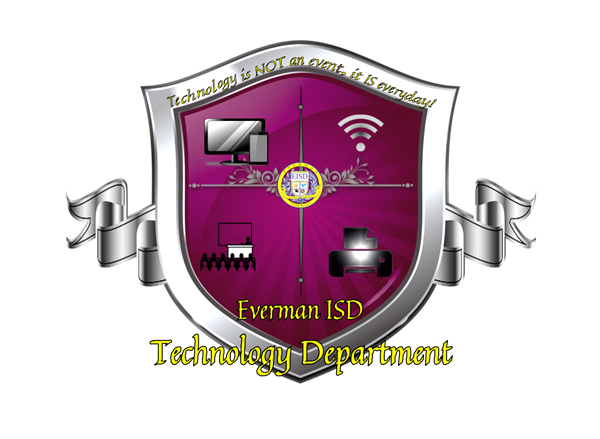 Everman ISD Technology Department Emblem